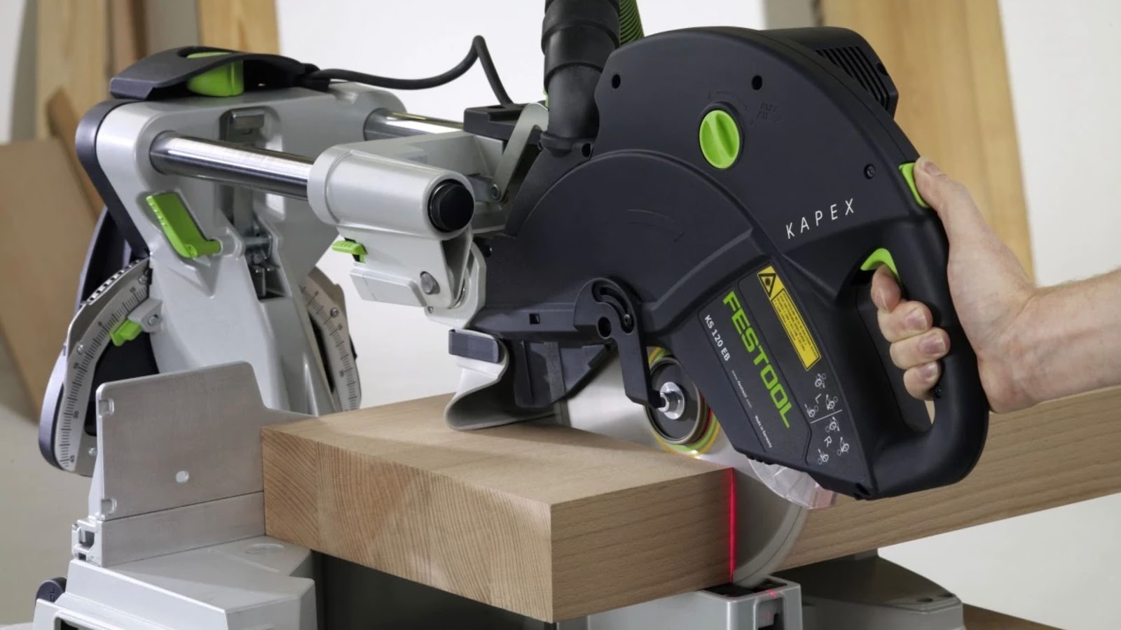 Festool kapex - cutting wood