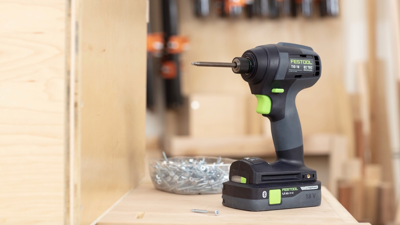 The Festool TID 18 is a Smarter Kind of Cordless Impact Driver