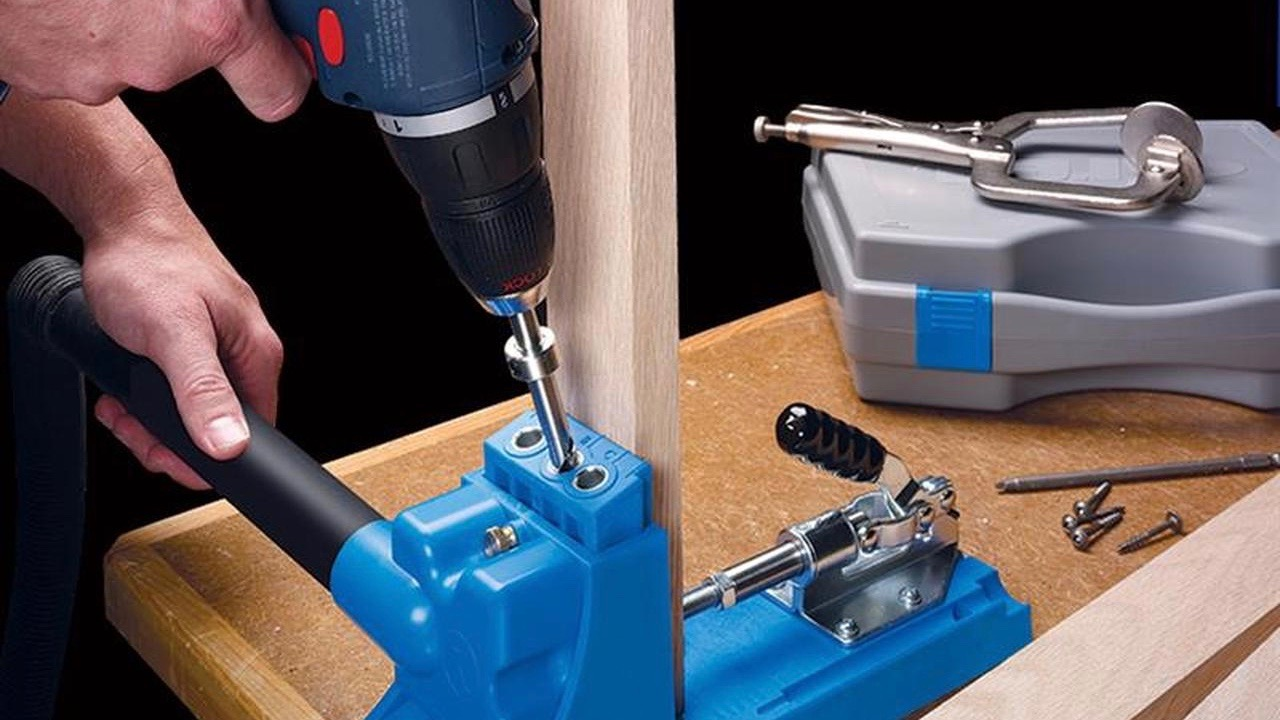 Woodworking with the Kreg Pocket Hole Jig
