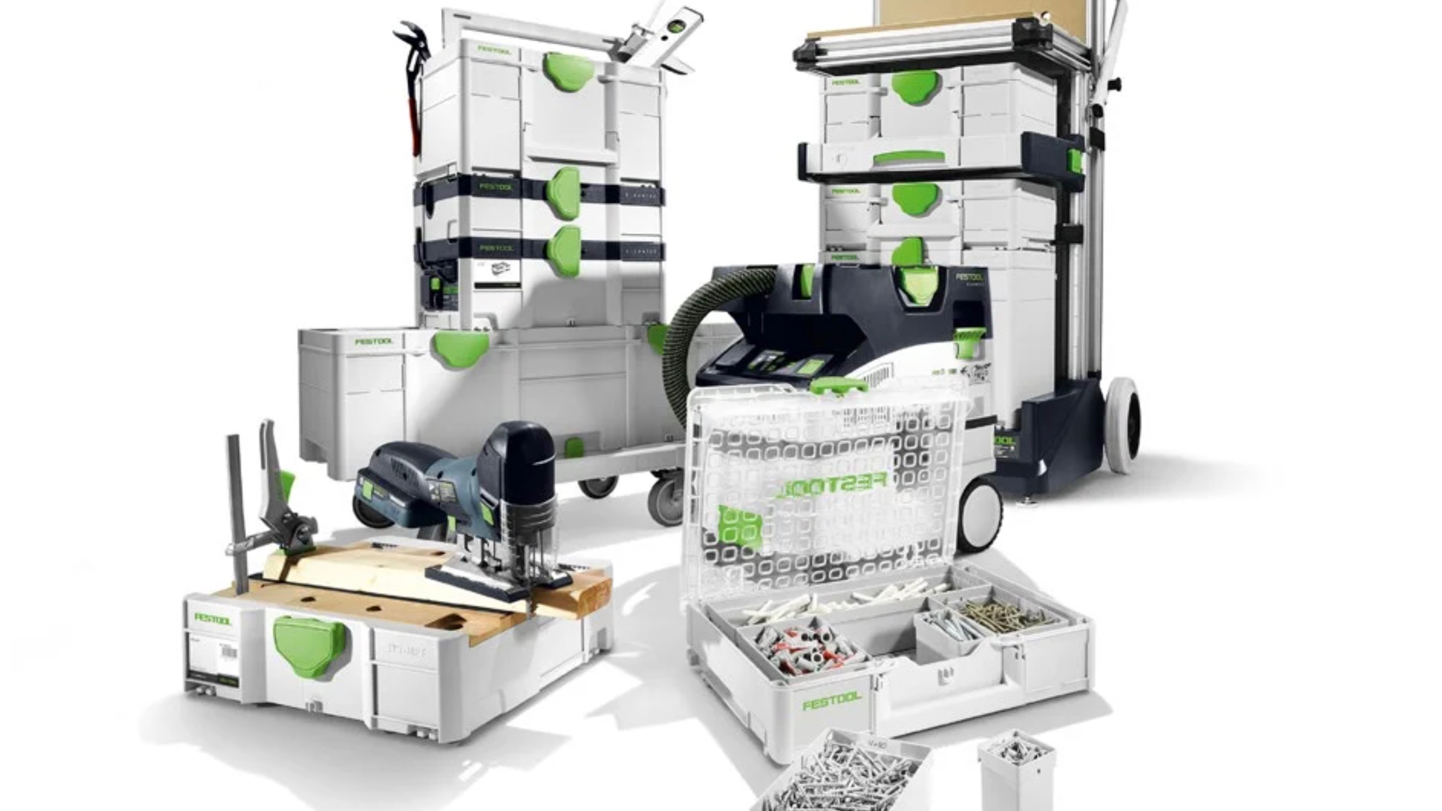 With Festool's Launch of Systainer3, It's Time to Get Organized