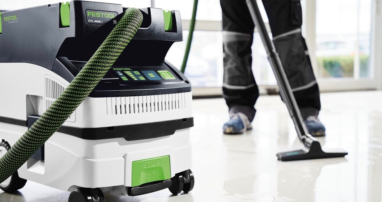 How the New Festool CTs Achieve Mobile Dust Extraction