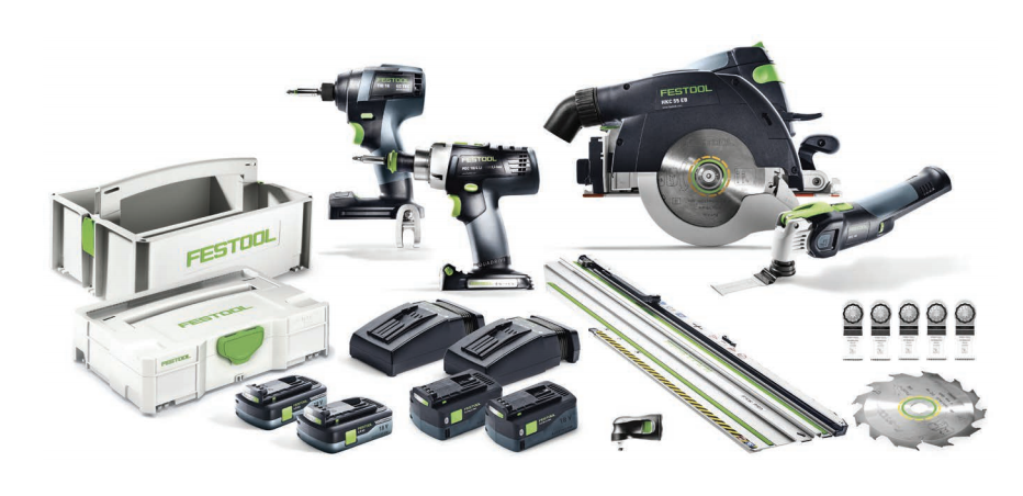 Big Savings with These New Combo Festool Kits